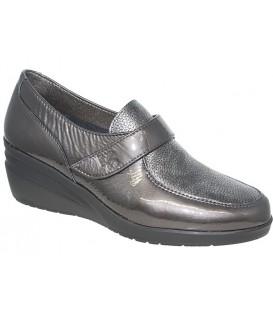 Zapato de confort gris