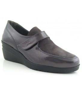 Zapatos de confort con velcro