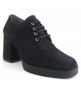 Zapato Cordones mujer BRYAN 1300 NEGRO
