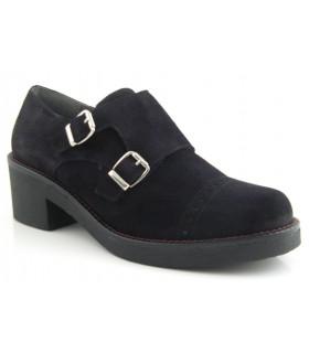 Zapato clásico dos hebillas