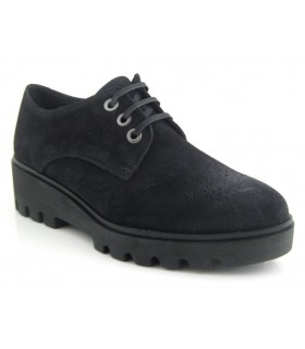 Zapato blucher color negro