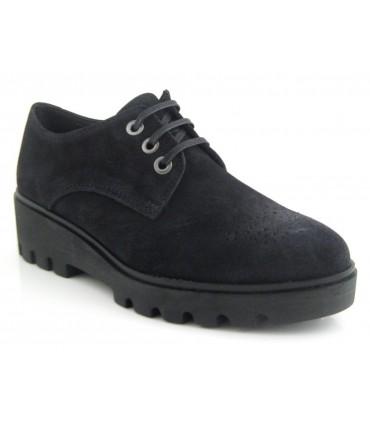 Zapato blucher color negro