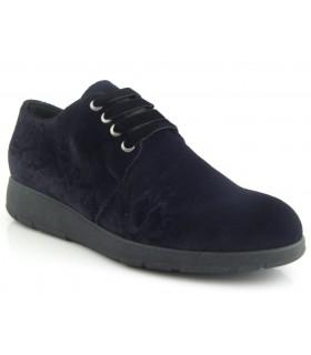 Zapatos de cordones terciopelo