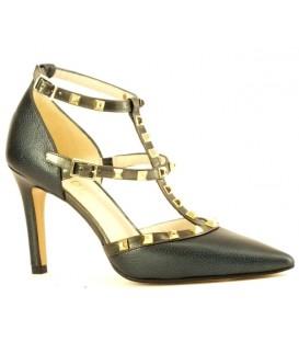 Zapatos de vestir con tachas negro