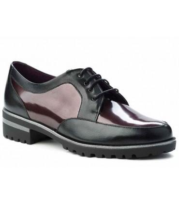 Zapatos de cordones combinado