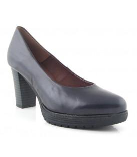 Zapato salón tacón con plataforma