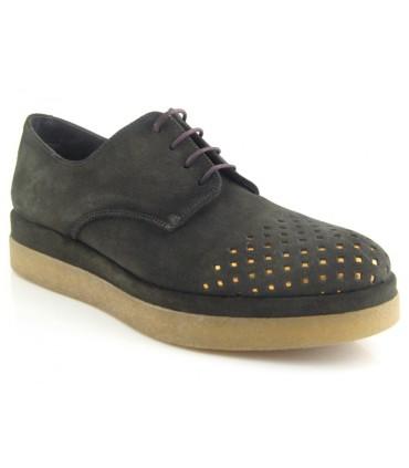 Zapato blucher con calados