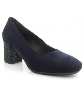 Zapato salón mujer tacón medio