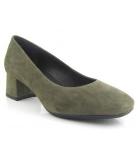 Zapato salón tacón bajo