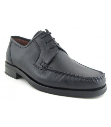 Zapato de cordones de ancho especial