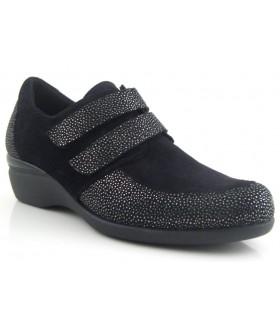 Zapato con dos velcros para mujer