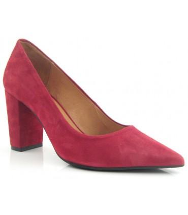 Zapato salón tacón ancho