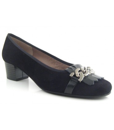 Zapato salón mujer negro