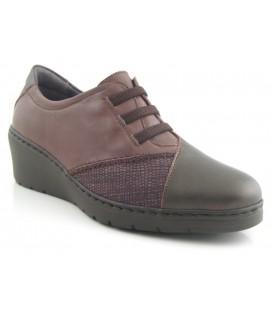 Zapato de cordones elásticos