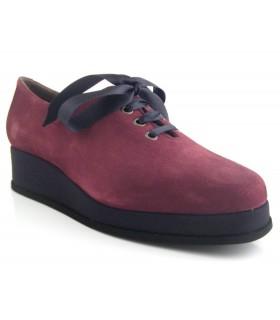 Zapato de cordones lazo