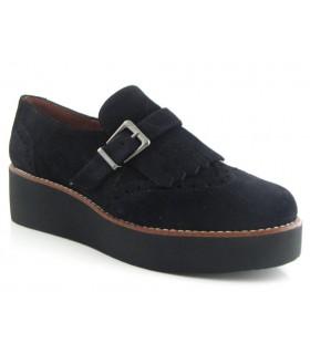 Zapato con hebilla negro