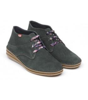 Zapato Cordones mujer ON FOOT 16501 VERDE