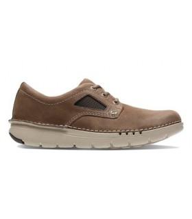 Zapato de confort nobuck oliva
