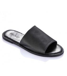 Sandalias con pala negra