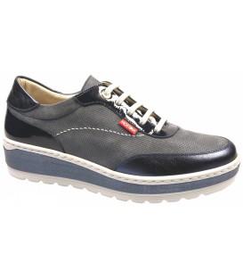 Zapato clásico color azul