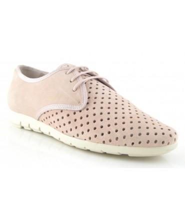 Zapatos de cordones con calado
