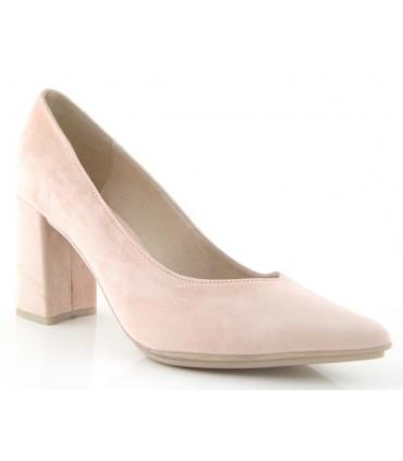 Zapato salón rosa palo