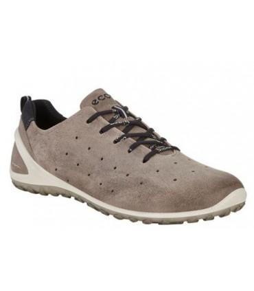 Zapato deportivo gris con cordones