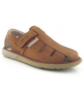 Sandalias cerradas con velcro para hombre