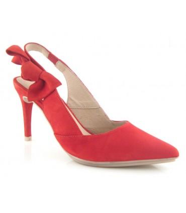 Zapato con lazo lateral corte salón