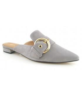 Zapato mule con hebilla