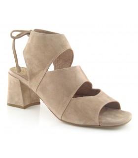 Sandalia de tacón medio para vestir
