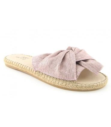 Sandalias color rosa
