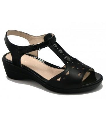 Sandalia extra confort color negro