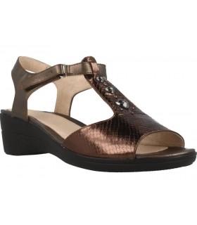 Sandalia cómoda color bronce
