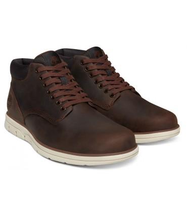 Botas de piel engrasada marrón