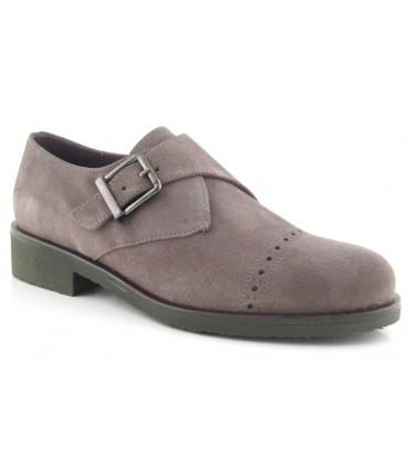 Zapato con hebilla mujer