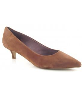 Zapato ante cuero