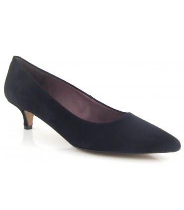 Zapato negro tacón chupete