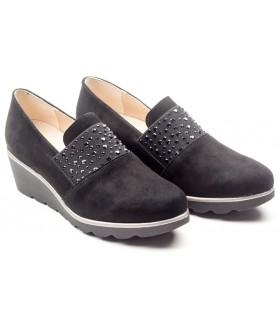 Zapato de confort negro
