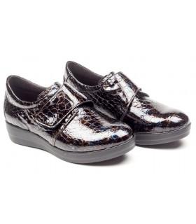 Zapato de confort en charol