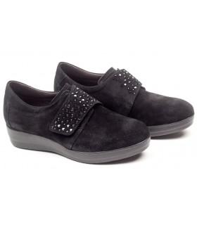 Zapato de confort con velcros