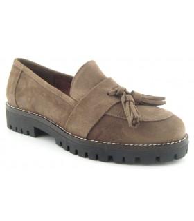 Zapato plano con borla