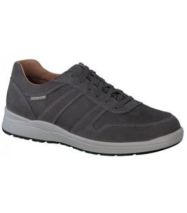Zapato de cordones gris