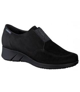 Zapato mocasín con elástico central