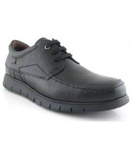 Zapato clásico color negro de cordones