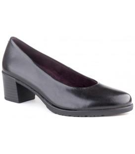Zapato salón negro liso