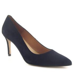 Zapato negro tacón fino