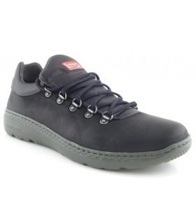 Zapato con ganchos color negro