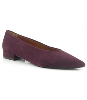Zapato salón mujer tacón bajo