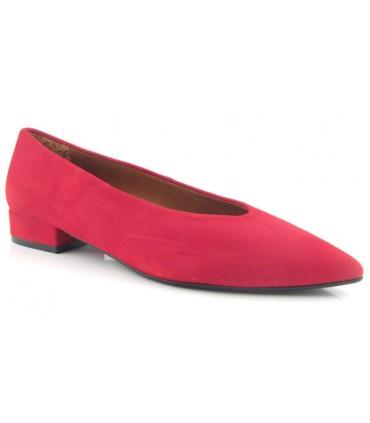 Zapato salón rojo intenso